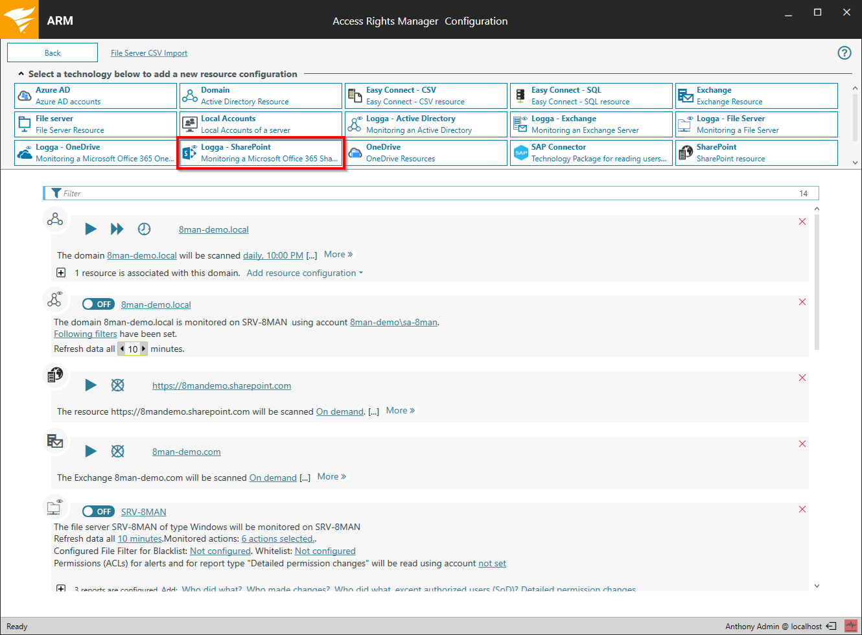 Configure SharePoint Online Logga