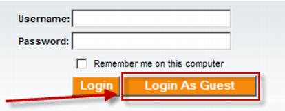 Enable guest login