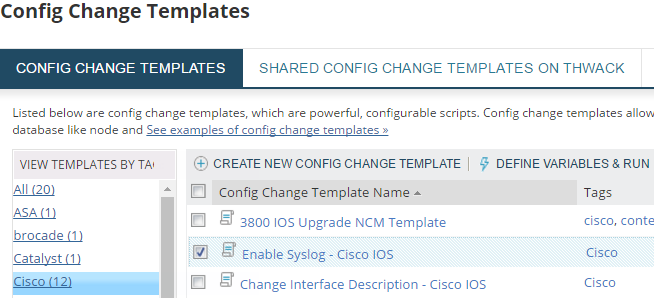 Configure a Cisco device to send syslog messages
