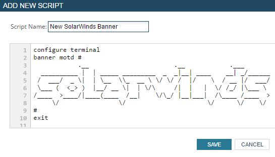 Edit A Network Config Using A Script