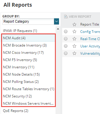 Network Configuration Manager 8 0 Release Notes