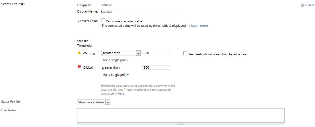 Create a Windows PowerShell Script monitor