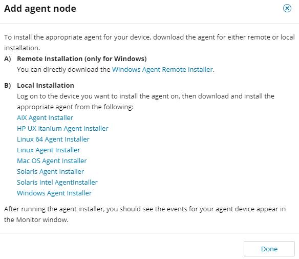 Add an agent node