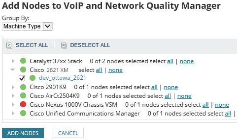 Add An Ip Sla Cisco Router To Solarwinds Vnqm